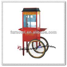 K131 Luxueuse machine à popcorn électrique avec chariot