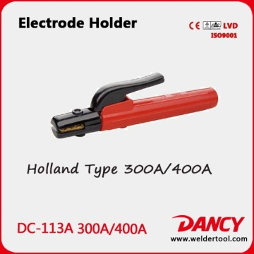 New design 300 / 400A good heat resistance electrode holder code.DC-113A