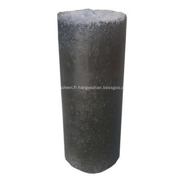 Pâte ronde d'électrode de carbone pour le carbure de calcium submergé