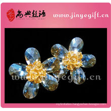 Guangzhou Shangdian Bling Crystal Middle Heart Zircon Women Earring