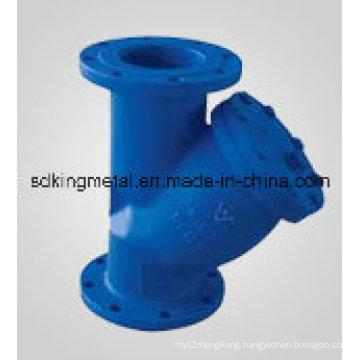 DIN Standard Pn10 Y Type Cast Iron Strainer
