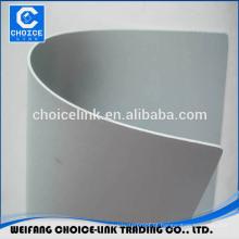 PET tecido reforçado PVC impermeabilização material