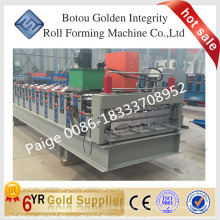 Roofing sheet making machine, metal roof roll former