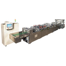 Tres o centro de la maquinaria de fabricación de bolsas