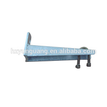 Soporte de monopolos Soporte de hardware de línea de poste de carga pesada para piezas de poste de la lámpara línea eléctrica material de acero