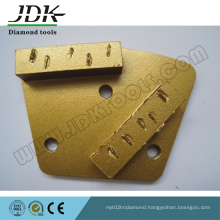 PCD Chunk Grinding Trapezoid Plate
