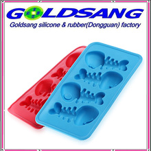 Fish Bone Silicone Ice Tray Ice Mould Ice Maker
