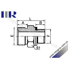 Metric Mâle O-Ring / Bsp Mâle O-Ring Adaptateur Hydraulique Nipple (1EG)