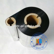 Thermal barcode printer use black color wash resin thermal transfer ribbon