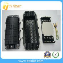 48 Kern Vier Einlässe / Auslässe Horizontaler / Inline-Typ Faseroptischer Spleißverschluss
