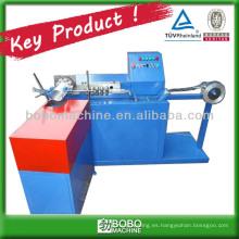 PAD-300 serie de la hoja de aluminio máquina de conducto flexible