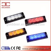 Mini luz estroboscópica LED intermitente para vehículos de emergencia (GXT-4)