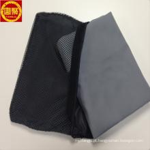 Alta qualidade toalha de esportes de camurça de microfibra com malha saco preto, conjuntos de toalha portáteis