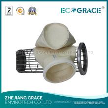 Le filtre à manches bon marché de centrale thermique de PPS / filtre à manches d'Aramid / sac filtrant de collecteur de poussière pour le plan de ciment ou d'asphalte