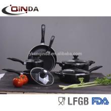 Aluminum rectangular aluminum pot cookware set