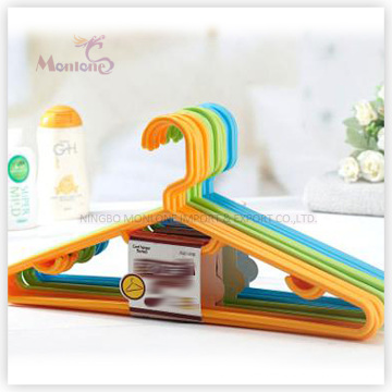 PP Plastic High Quality Clothes Hanger Set of 5 (39*18.5cm)