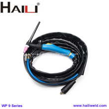 Tocha HAILI WP 9V Tig com válvula