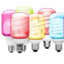 Promotion Housse d'ampoule en silicone à LED personnalisée