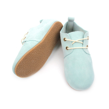 Quality Real Suede Leather Oxford Shoes Kids