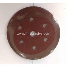 China for Abrasive Velcro Disc Aluminum Oxide 140G D-wt Abrasive Velcro Disc export to Malta Supplier