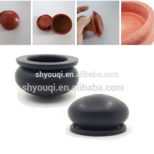 Diafragma de goma personalizado de alta calidad / ventosa de goma reforzada con PTFE