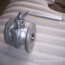 ASME Lever CF8m Ball Valve Stainless Steel