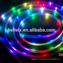 Digital smd 5050 rgb led tira 5v, endereçável led strip rgb