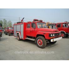 4 ton Dongfeng tanque de água do caminhão de bombeiros, 4x2 luta contra o fogo preço do caminhão