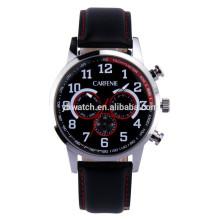 De Buena Calidad reloj de pulsera de los hombres de movimiento multifunción de Japón