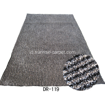 Poliester Strip Shaggy karpet