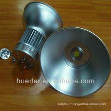 100-240v 85-265v 220v cob conduit haut boîtier de lumière de baie 100w