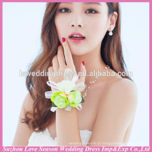WS0007 flor charme bracelete pulseira anel conjunto moda bracelete pulseira royal acessórios jóia feminina