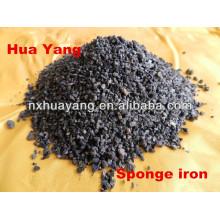30-50% taux de Porosité Huayang éponge de fer