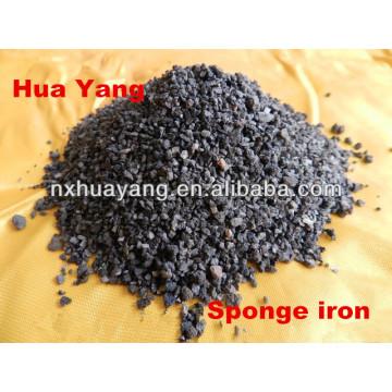 30-50% tasa de Porosidad Huayang esponja de hierro