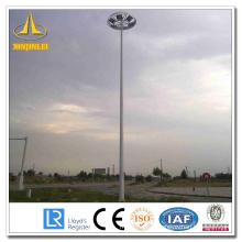Powder Coating Steel High Mast Poles