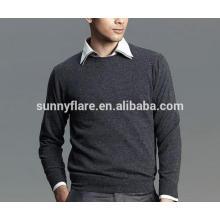 Suéter de cachemira pura de hombres calientes de venta caliente