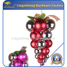 Yoland 24CT Barrel Plating Multicolor Christmas Ball Ornaments