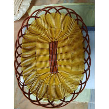 Hot Sell Cheap Heated Plastic Rattan Bread Baskets Wholesale