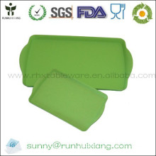Rectangle bamboo fiber serving tray L43*W27cm