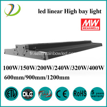 Éclairage commercial 200W LED Linear High Bay Light
