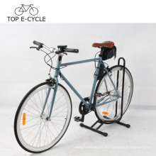 OEM 2017 venta caliente fixie sola velocidad bicicleta 700C elecrtic bicicleta
