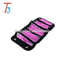 Maleta cosmética de suspensão portátil multifuncional do caso da composição do saco do curso