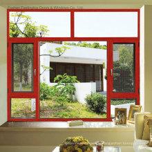 Thermische Bruch-Aluminiumfenster-Entwürfe (FT-W135)