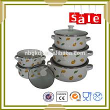 5шт эмалированной посуды набор посуды счастливый барон для заваривания супа