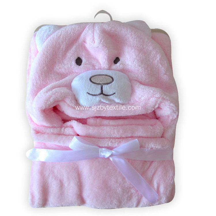 Bamboo Hooded Bath Towel for little baby