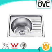 Cheap new polished single bowl 304 stainless steel kitchen sink Cheap new polished single bowl 304 stainless steel kitchen sink