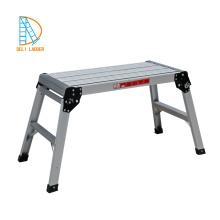plataforma de escada dobrável de alumínio portátil