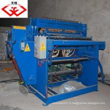 Machine à mailles métalliques soudées entièrement automatiques et semi-automatiques