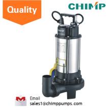 Pompes submersibles d'eaux usées pour les usines, les chantiers de construction et les installations commerciales