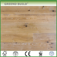 Natural White Wash Oak Engineered wood Flooring